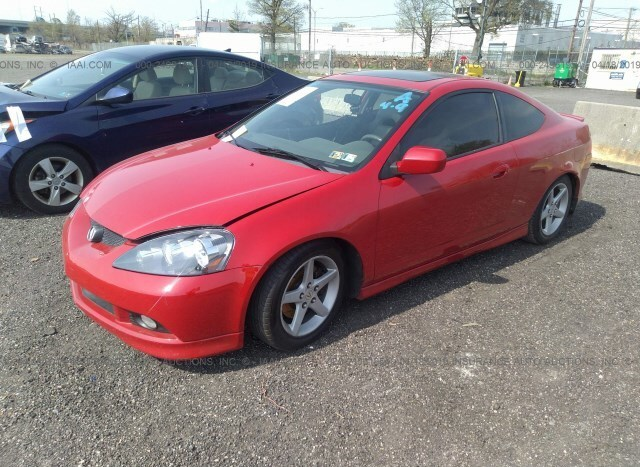 Salvage Car Acura Rsx 2006 Red for sale in Philadelphia PA online