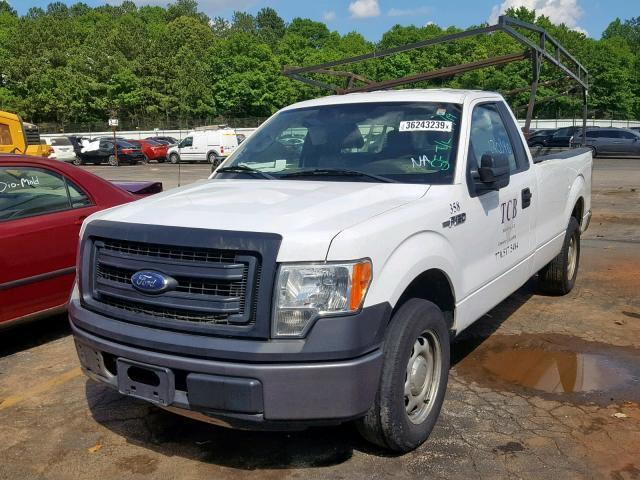 2014 Ford F150 For Sale >> Salvage Car Ford F150 2014 White For Sale In Austell Ga