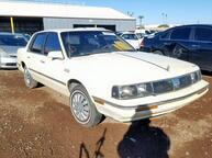 Salvage Car Oldsmobile Cutlass Ciera 1986 Light Blue for sale in