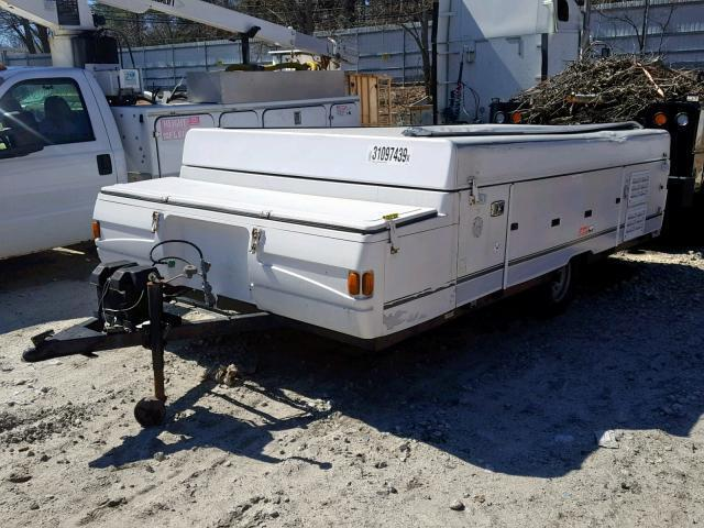 Salvage RV Fleetwood Utah 2003 White for sale in MENDON MA