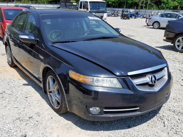 2008 Acura Tl For Sale >> Salvage Car Acura Tl 2008 Black For Sale In Gainesville Ga