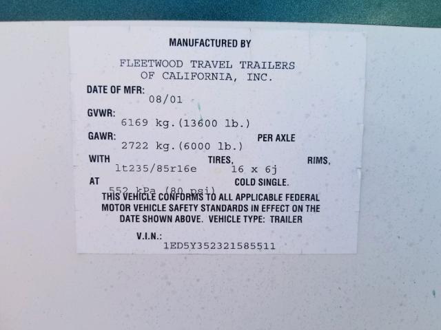 Fleetwood Wilderness for Sale