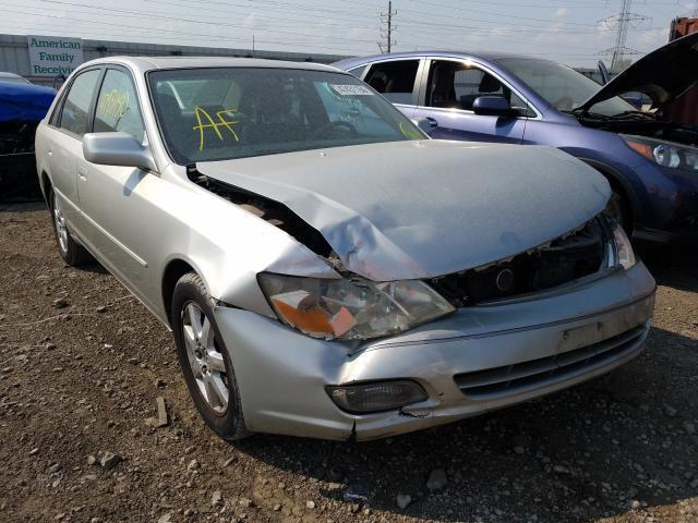 salvage car toyota avalon 2000 silver for sale in elgin il online auction 4t1bf28b6yu085029 ridesafely