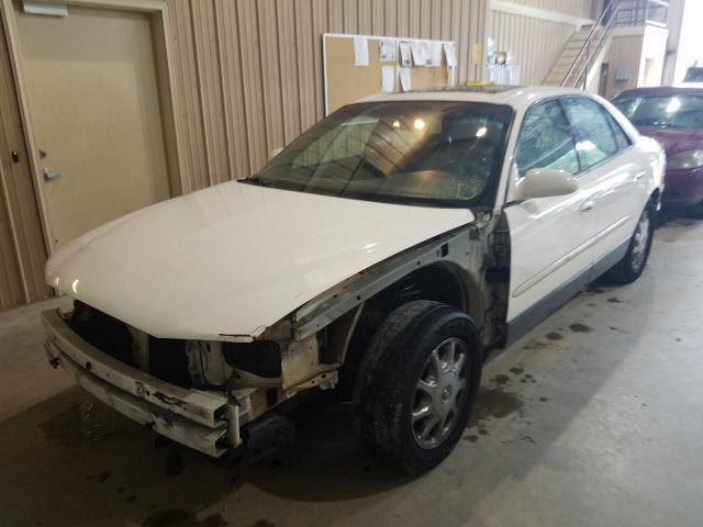 salvage car buick regal 2002 white for sale in gainesville ga online auction 2g4wf551321266557 ridesafely
