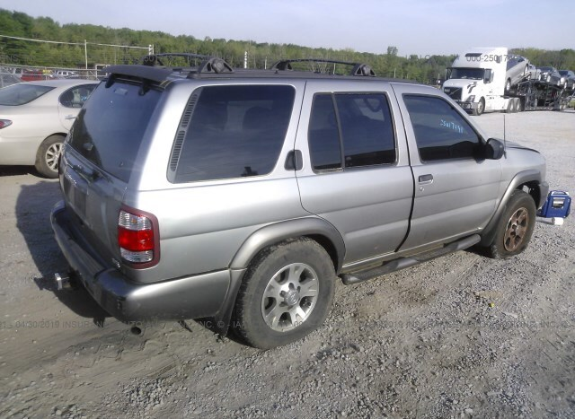Used Car Nissan Pathfinder 2000 Gray for sale in Chattanooga