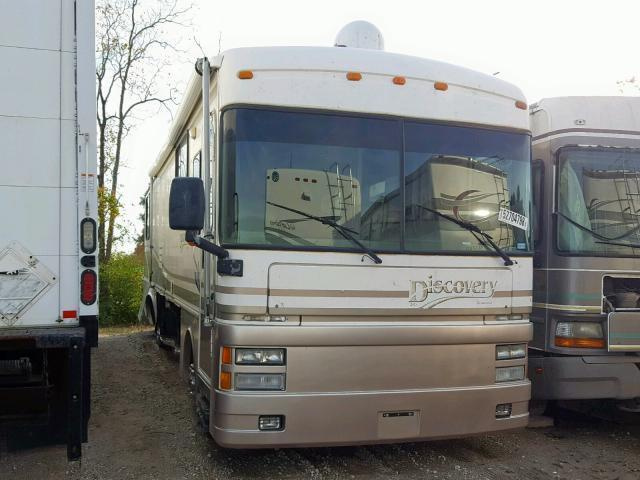 Salvage Truck Freightliner Xc Chassis 1999 Tan for sale in