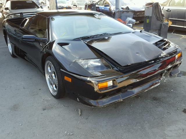 Salvage Car Lamborghini Diablo Sv 1999 Black For Sale In Los Angeles