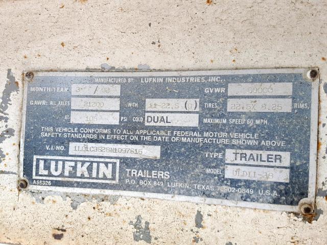 Lufkin Trailer for Sale