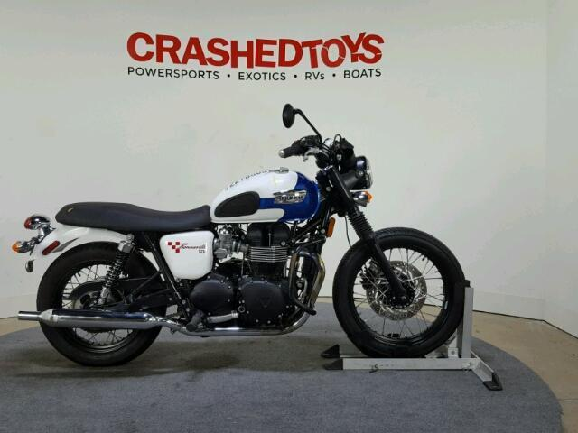 Used Motorcycle Triumph Bonneville T100 2015 Red For Sale In Temple