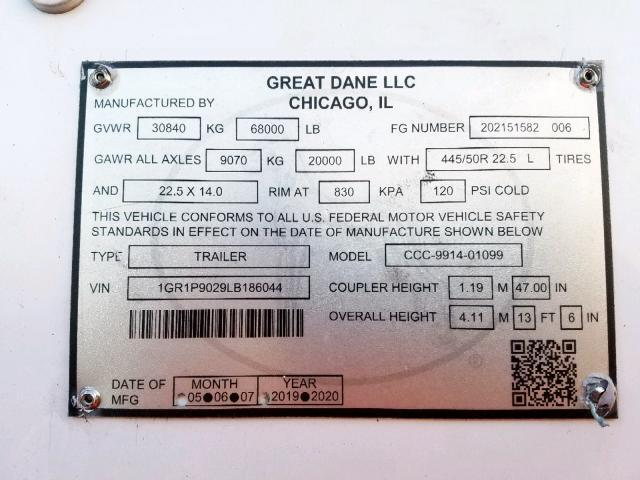Great Dane Trailer for Sale