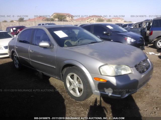 Salvage Car Nissan Maxima 2001 Gray For Sale In Phoenix Az Online