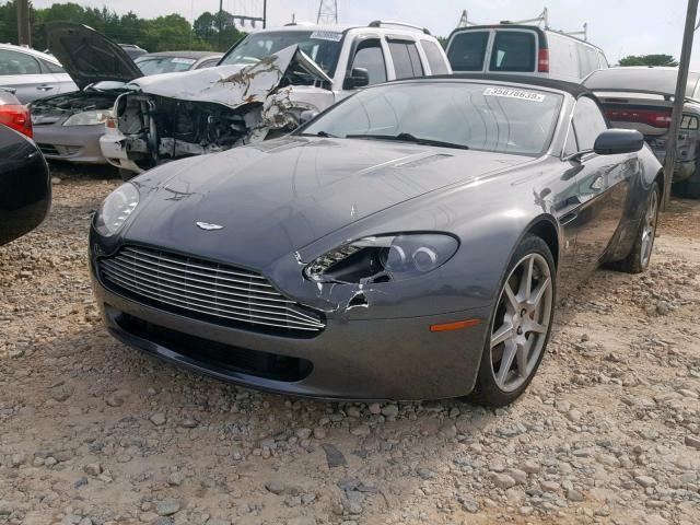 Salvage Car Aston Martin Vantage Roadster 2008 Black For Sale In China Grove Nc Online Auction Scfbf04b68gd08736