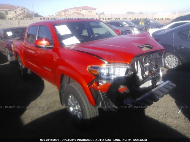Salvage Car Toyota Tacoma 2018 Orange For Sale In Phoenix Az Online