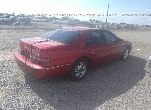 1995 cadillac sts tire size