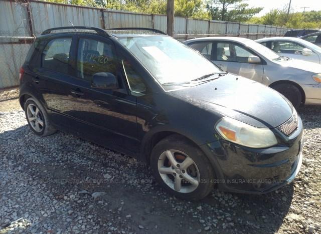 Salvage Car Suzuki Sx4 2007 Black for sale in Grove City OH online