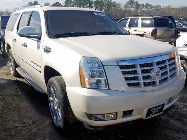 Salvage Car Cadillac Escalade Esv 2007 White for sale in