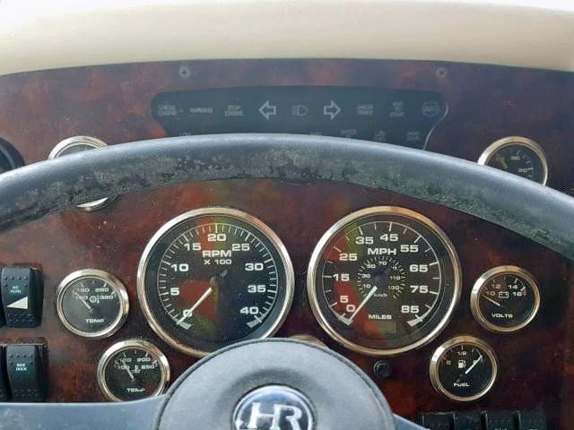 Salvage Rv Roadmaster S Series Monocoque 2001 Burgundy For