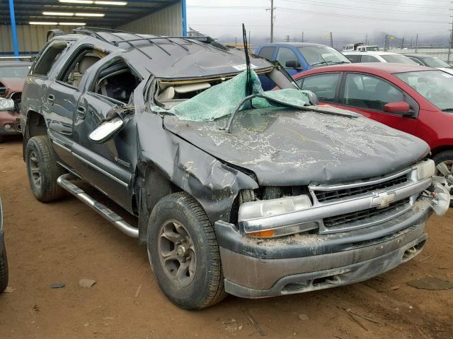 Salvage Car Chevrolet Tahoe 2001 Gray For Sale In Colorado