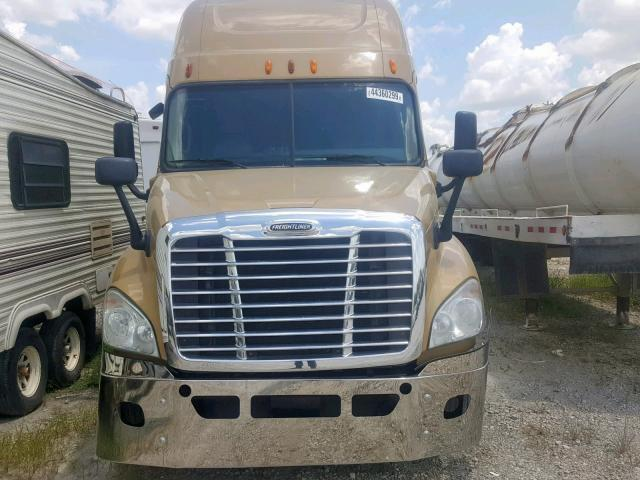 Used Truck Freightliner Cascadia 125 2012 Gold for sale in