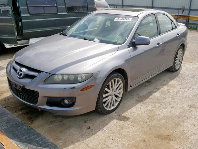 Mazdaspeed6 For Sale >> Salvage Car Mazda Mazdaspeed6 2007 Silver For Sale In