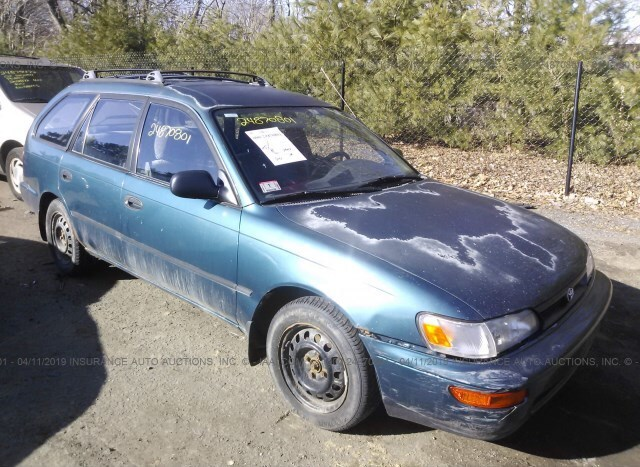 Used Car Toyota Corolla 1993 Green for sale in Shirley MA online