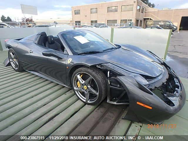 Ferrari 458 Spider for Sale