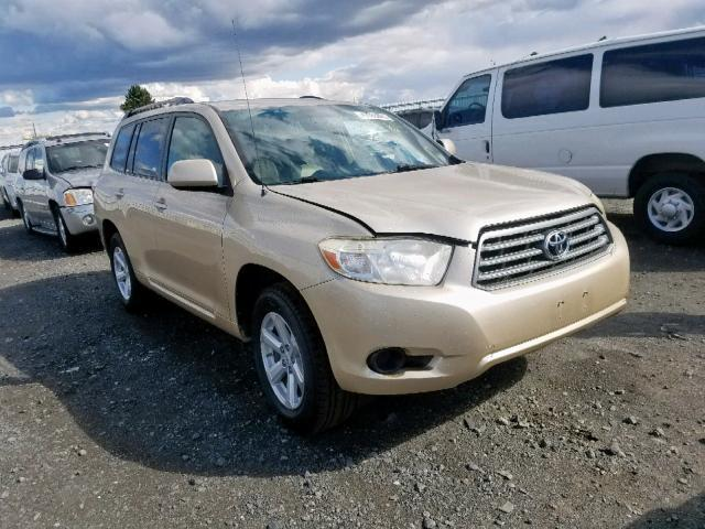 2008 Toyota Highlander For Sale >> Used Car Toyota Highlander 2008 Gold For Sale In Airway