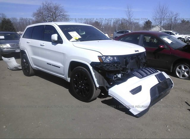 Auction Ended Salvage Car Jeep Grand Cherokee 2018 White Is Sold In