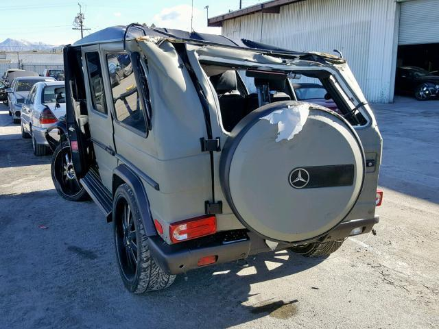 Salvage Car Mercedes-Benz G-Class 2008 Green for sale in SUN