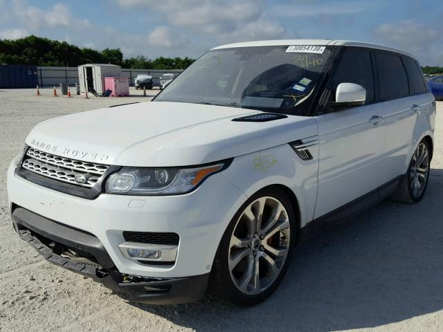 2016 Range Rover Sport For Sale In New Braunfels >> Salvage Car Land Rover Range Rover Sport 2016 White For Sale In New