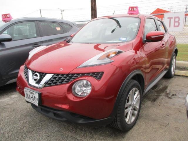Used Car Nissan Juke 2017 Red For Sale In San Antonio Tx Online