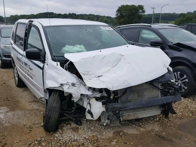 Salvage Car Dodge Grand Caravan 2015 White For Sale In Madison Wi