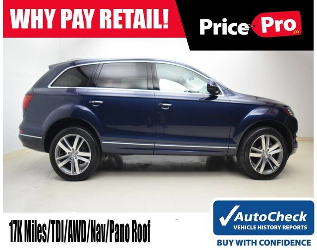Used Car Audi Q7 2015 Atlantis Blue Metallic For Sale In Maumee Oh