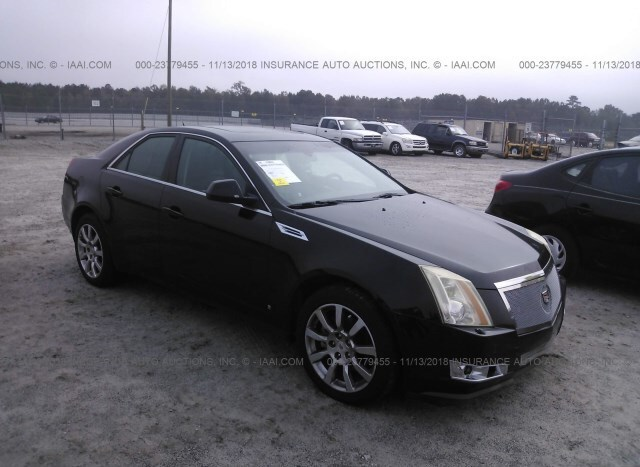 Auction Ended Salvage Car Cadillac Cts 2008 Black Is Sold In Rincon