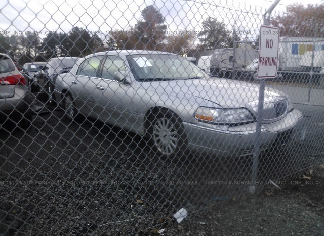 Salvage Car Lincoln Town Car 2005 Silver For Sale In Ashland Va