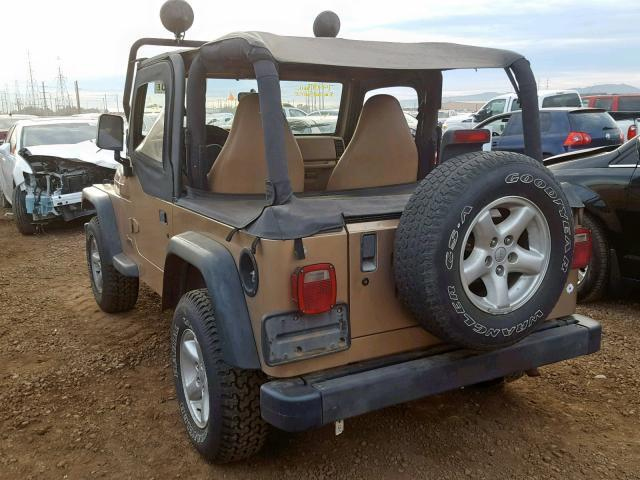 Used Car Jeep Wrangler 2000 Brown For Sale In Phoenix Az Online