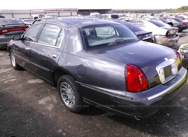 Salvage Car Lincoln Town Car 2000 Gray For Sale In Tulsa Ok Online