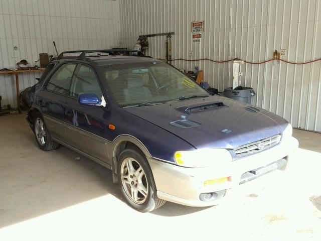 Auction Ended Salvage Car Subaru Impreza 2000 Silver Is Sold In