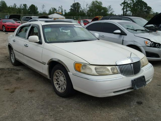 Auction Ended Salvage Car Lincoln Town Car 1998 White Is Sold In