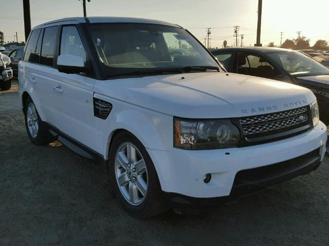 salvage car land rover range rover sport 2013 white for sale in los angeles ca online auction. Black Bedroom Furniture Sets. Home Design Ideas