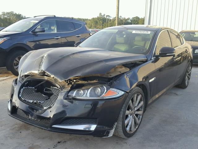 Salvage Car Jaguar Xf 2012 Black For Sale In Apopka Fl Online