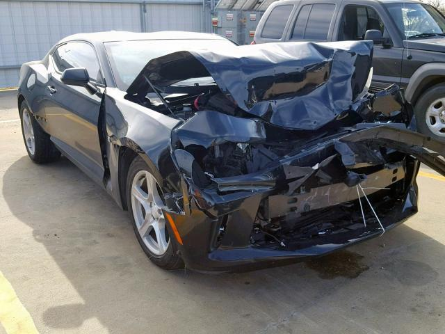 Salvage Car Chevrolet Camaro 2016 Black For Sale In Wilmer Tx Online