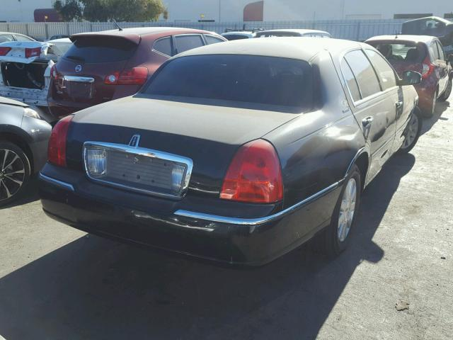 Salvage Car Lincoln Town Car 2008 Black For Sale In Hayward Ca