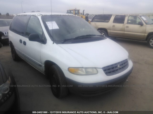 Salvage Car Chrysler Voyager 2000 White For Sale In Phoenix Az