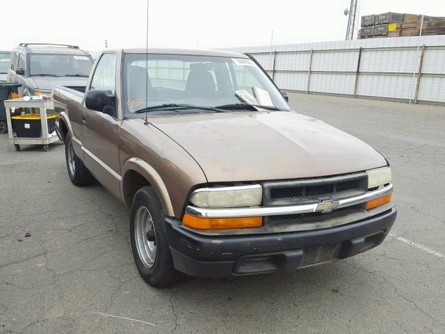 Salvage Car Chevrolet S10 2003 Brown for sale in FRESNO CA online