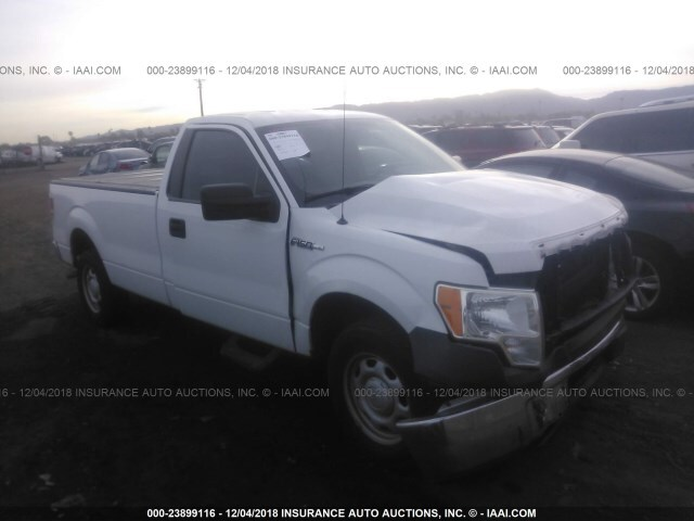 Salvage Car Ford F150 2011 White For Sale In Phoenix Az Online