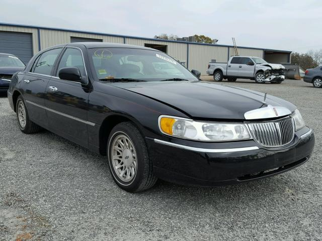 Salvage Car Lincoln Town Car 1998 Black For Sale In China Grove Nc