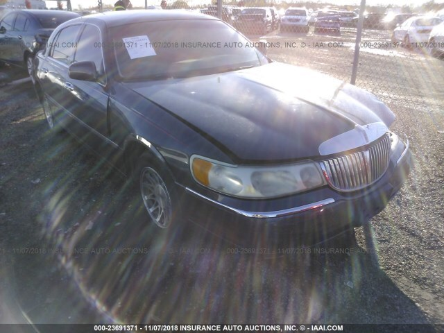 Salvage Car Lincoln Town Car 1999 Gray For Sale In Lincoln Il Online
