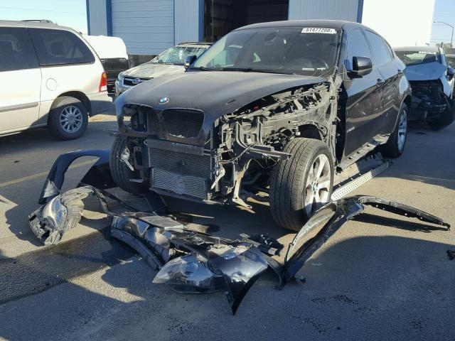 Salvage Car Bmw X6 2012 Black For Sale In Nampa Id Online Auction