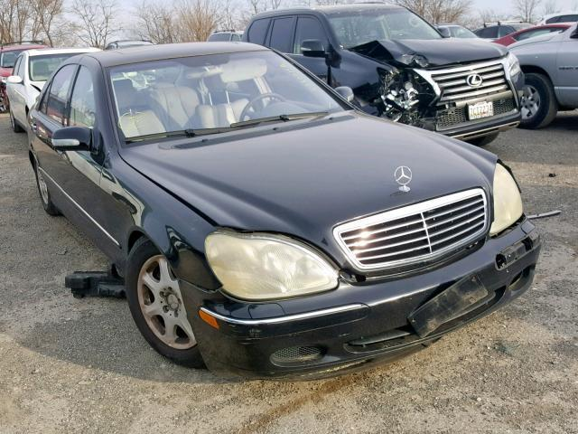 Salvage Car Mercedes Benz S Class 2001 Black For Sale In Finksburg